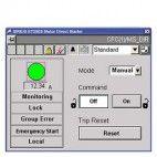 Библиотечный функциональный блок пускателя SIRIUS для SIMATIC PCS 7